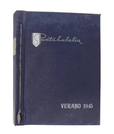 SANTA EULALIA Summer 1945 textile book