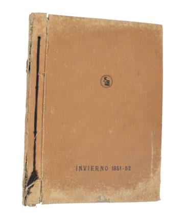 Winter 1951/52 textile book