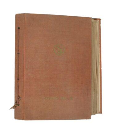 Winter 1954/55 textile book