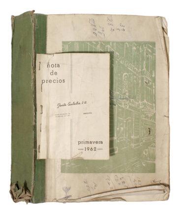 SANTA EULALIA Spring '62s book textile