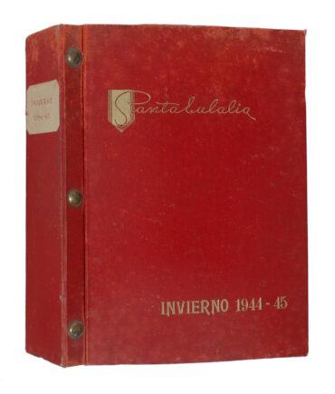 SANTA EULALIA Winter 1944/45 textile book