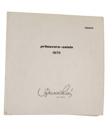 LANERIE Spring-Summer 1970 textile book