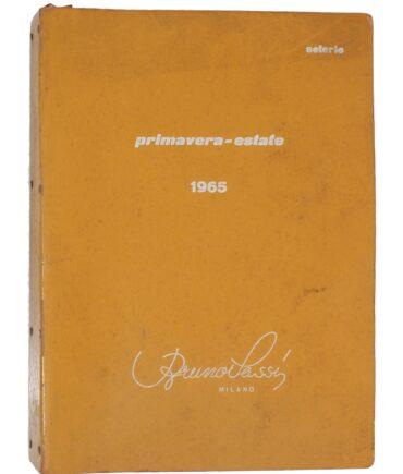 SETERIE Spring-Summer 1965 textile book