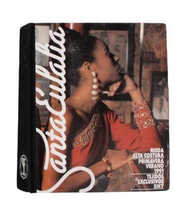 SANTA EULALIA Spring 1991 textile book
