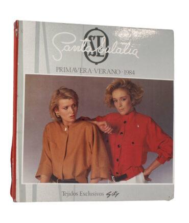 SANTA EULALIA Spring-Summer 1984 textile book