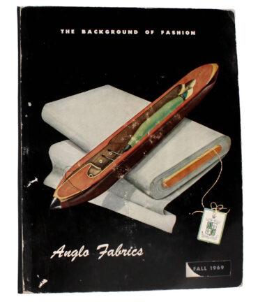ANGLO FABRICS Fall 1969 textile book