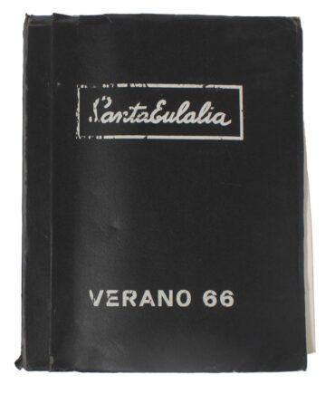SANTA EULALIA Summer 1966 textile book