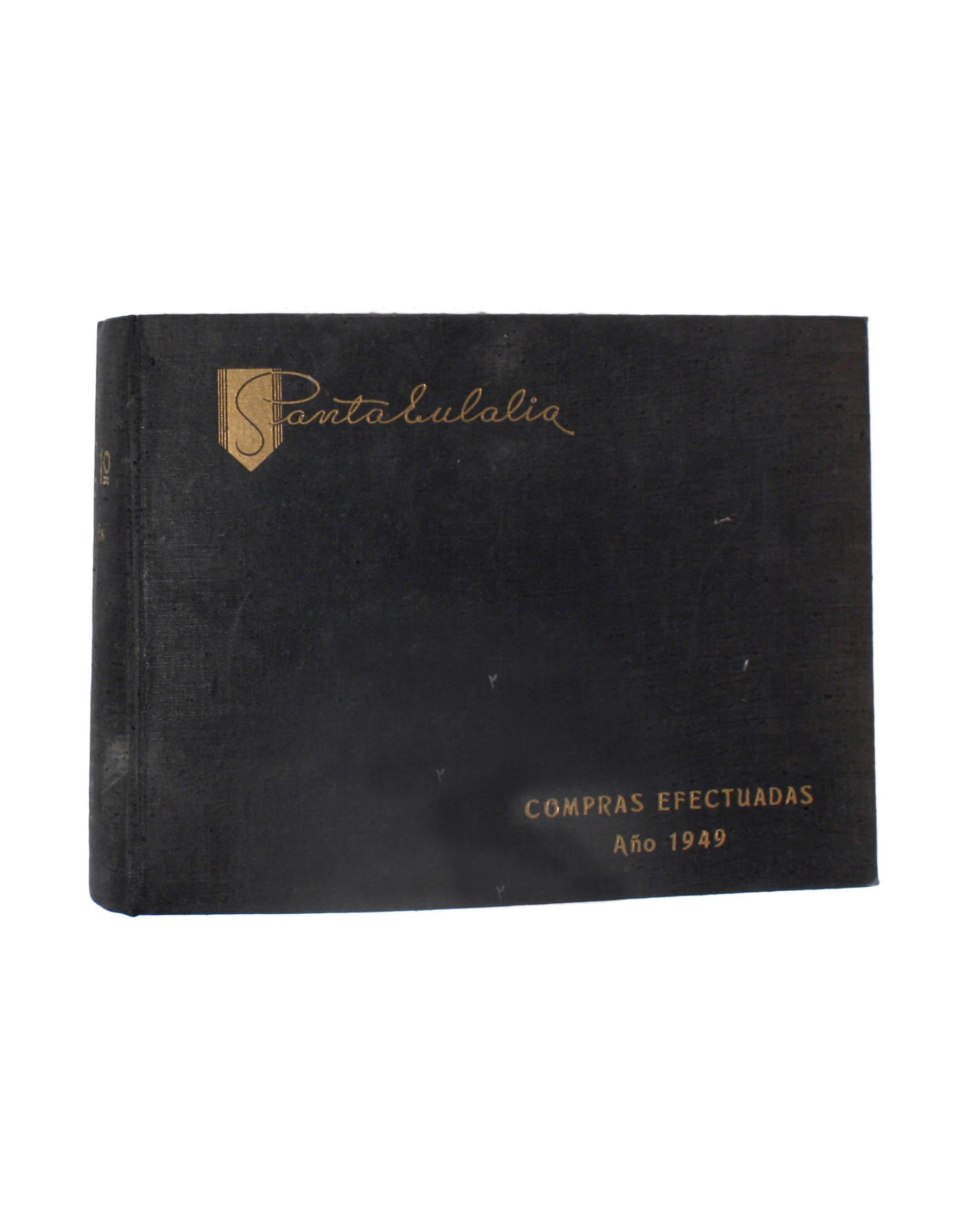 SANTA EULALIA Winter 1949/2 textile book