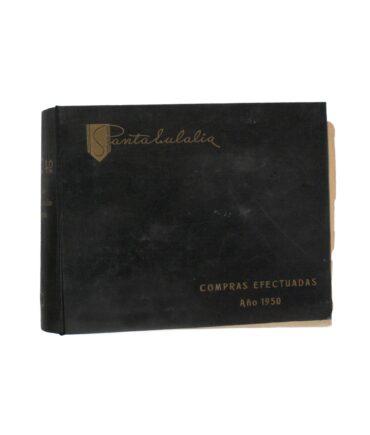 SANTA EULALIA Summer 1950 textile book