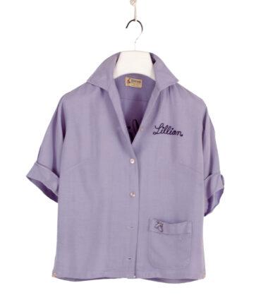 Hilton woman bowling shirt 50s/60s