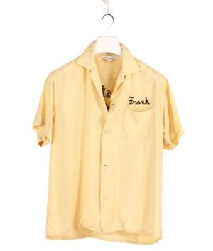 Nat Nast man bowling shirt 50s/60s