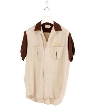 Olympian man bowling shirt 50s/60s