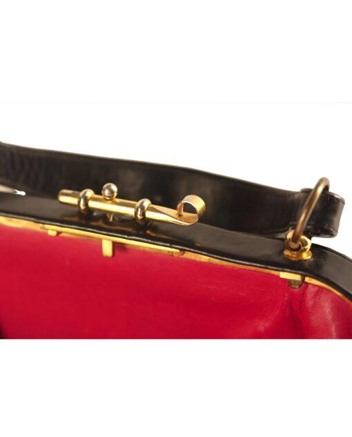 vintage ROBERTA DI CAMERINO Velour handbag 60/70s