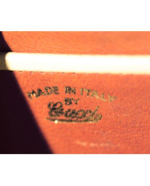 vintage GUCCI Rare leather bag 50s