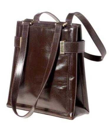 vintage GUCCI Rare leather bag 60/70s