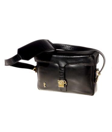 vintage ROBERTA DI CAMERINO Leather bag 60/70s