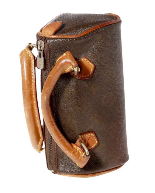 vintage LOUIS VUITTON Leather handbag 60s