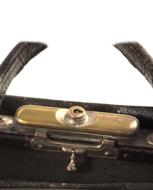 vintage Leather handbag 40s