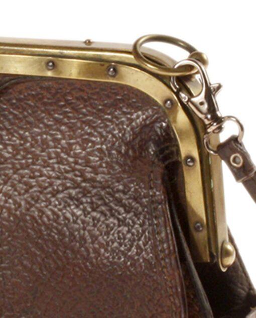 vintage Leather bag 30/40s