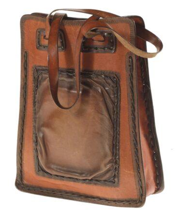 vintage Bohemian leather bag