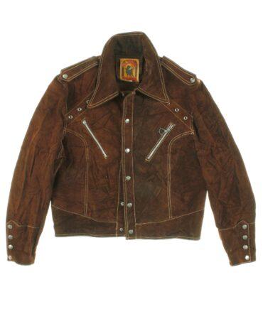 Vintage Man suede jacket 60-70s