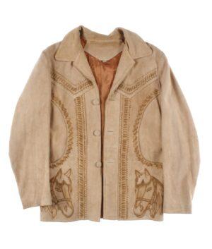 vintage Man suede jacket 60/70