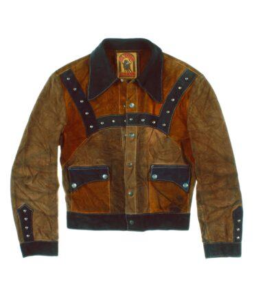 vintage EL TORO BRAVO Man suede jacket 60/70s