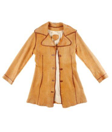 vintage Woman leather jacket 60/70s
