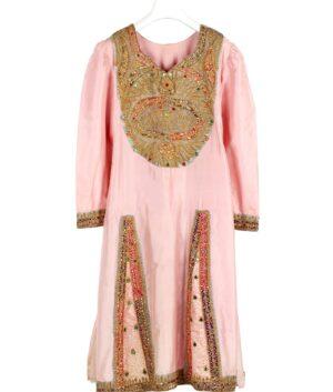 Ethnic ceremonial silk dress of Tunisia