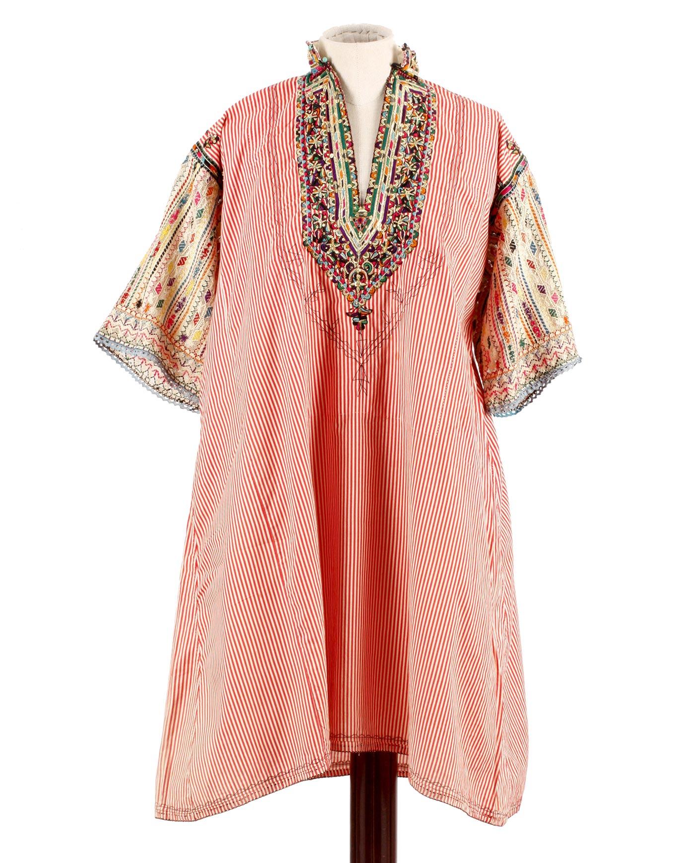Ethnic vintage Ceremonial dress of Tunisia