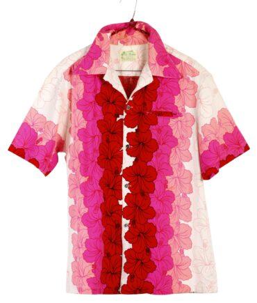 vintage UI-MAIKAI Hawaiian Hibiscus Shirt