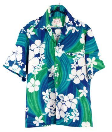 vintage OH-TANI Hawaii Rare Vintage Hibiscus shirt