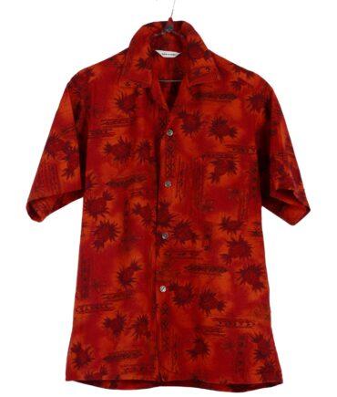 vintage NO LABEL Hawaiian shirt