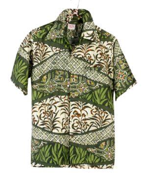 vintage BAREFOOT IN PARADISE Hawaiian shirt
