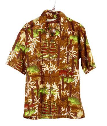vintage HOOKANO Hawaiian shirt