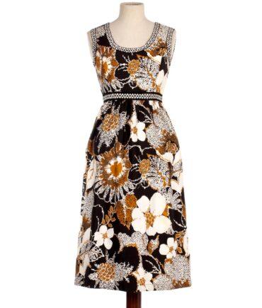 vintage ALEX COLMAN Floreal dress
