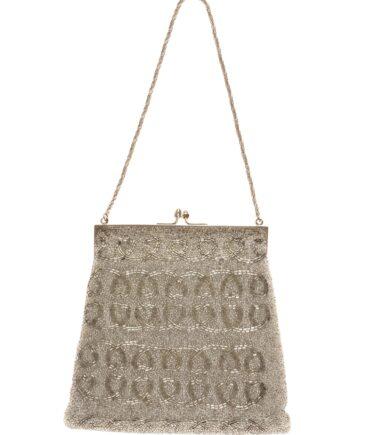 vintage Silver-plate evening bag 40/50s