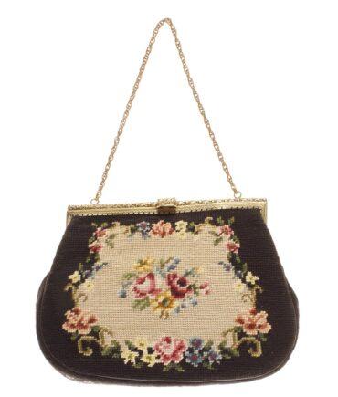 vintage Tapestry bag 50s
