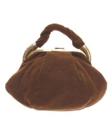 vintage Velvet bag 50s