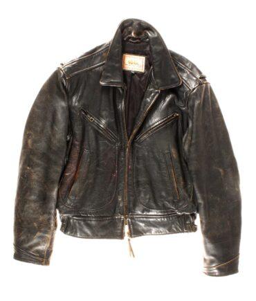 vintage TREVOR leather jacket 80s