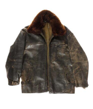 vintage Leather jacket 40/50s