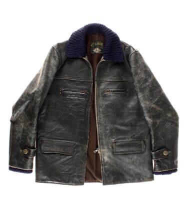 vintage Leather jacket 50s