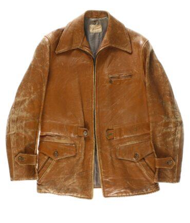 VINTAGE BORMCOLT leather jacket 50s