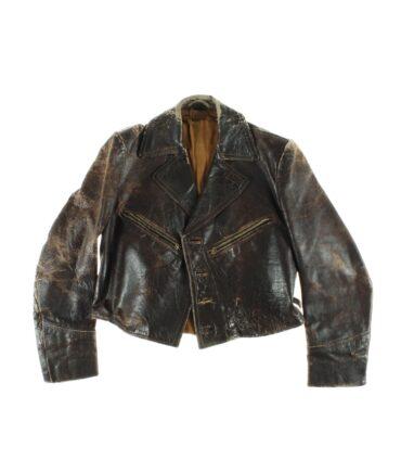 vintage Leather jacket 40s