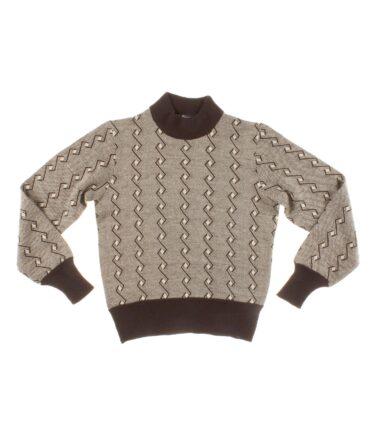 Vintage Wool Jacquard print
