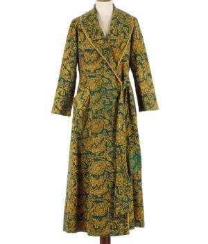 Velvet dressing gown 50/60s