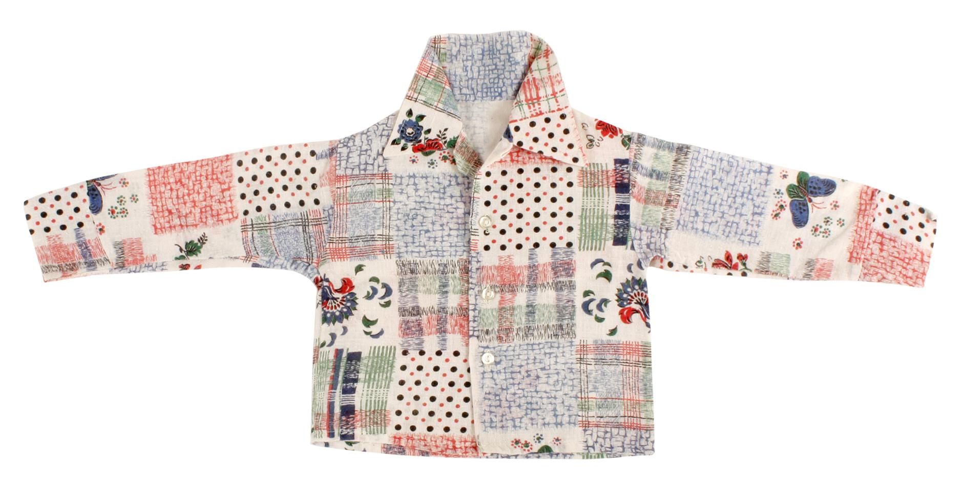 Kids Shirt patchwork print