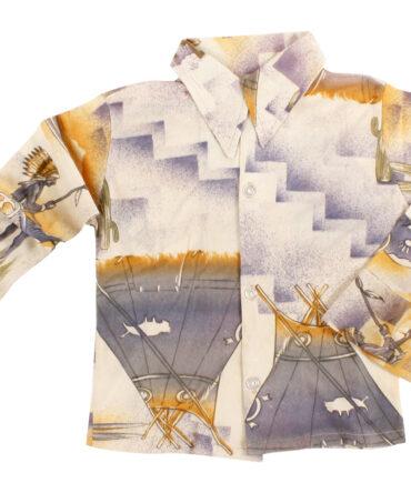 Kids Stretch shirt printed