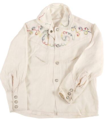 Kids Texan girl shirt with embroidery