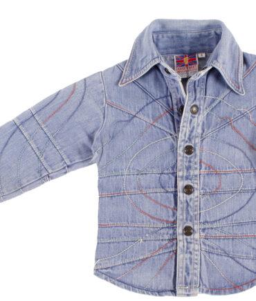 kids LONG STREET denim shirt